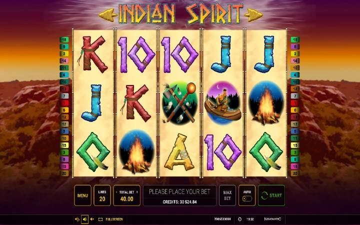 Indian Spirit, Online Casino Bonus