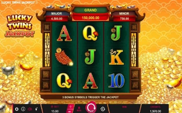 Lucky Twins Jackpot, Online Casino Bonus, Microgaming