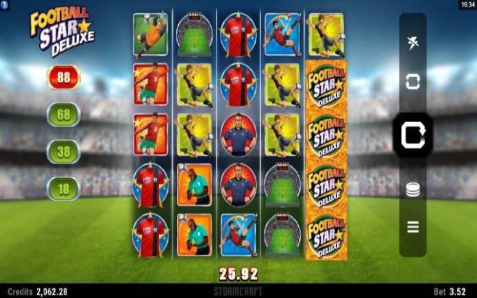 Football Star Deluxe, Online Casino Bonus
