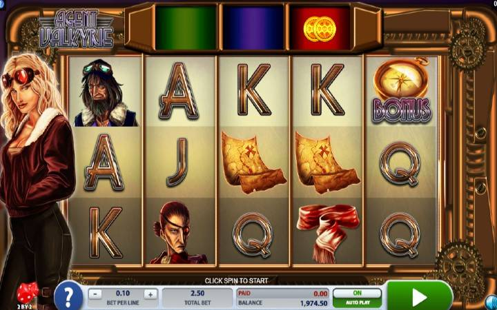 Agent Valkyrie, Microgaming, 2 by 2 Gaming, Online Casino Bonus