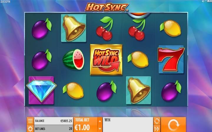 Hot Sync, Playtech, Online Casino Bonus