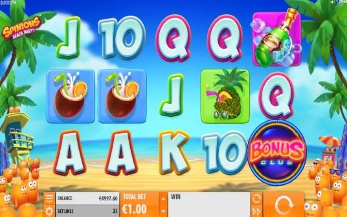 Spinions, Playtech, ONline Casino Bonus