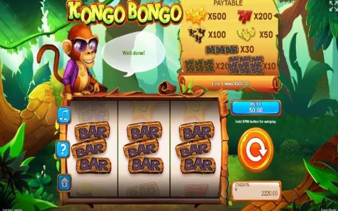 Online Casino Bonus, Kongo Bongo