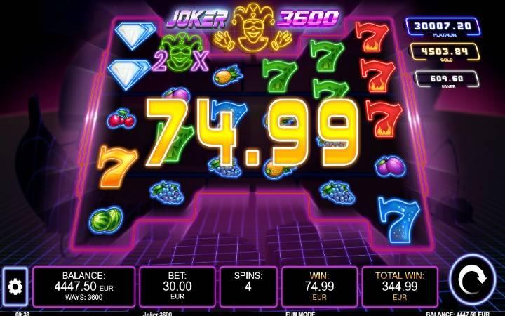 Besplatni Spinovi, Online Casino Bonus, Kalamba Games, Joker 3600