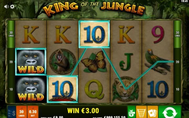 Džoker, Online Casino Bonus, King of The Jungle