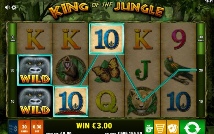 Džoker, Online Casino Bonus, King of The Jungle