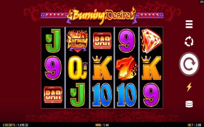Online Casino Bonus, Burning Desire, Džoker