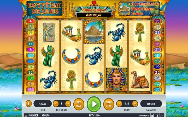 Egyptian Dreams, Habanero, Online Casino Bonus