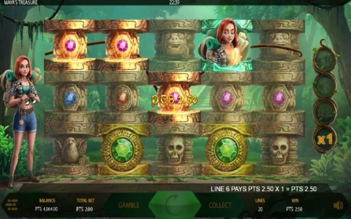 Džoker, Maya's Treasure, Online Casino Bonus