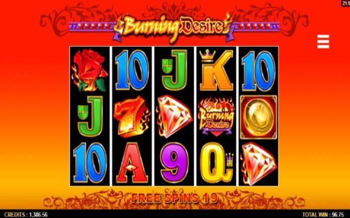 Besplatni Spinovi, Online Casino Bonus, Burning Desire