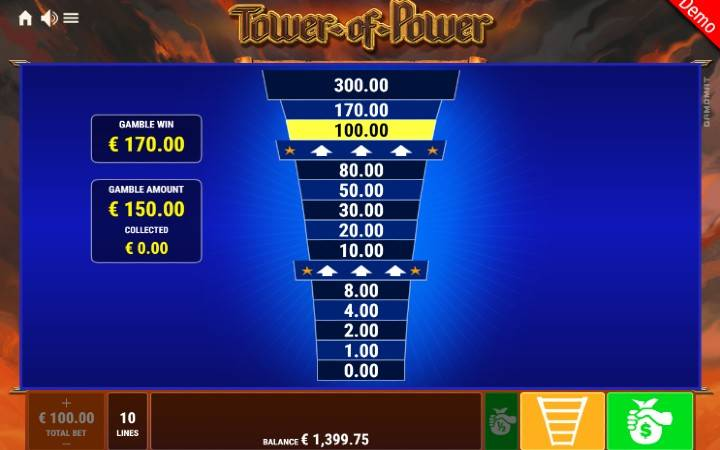 Kockanje, Online Casino Bonus, Tower of Power