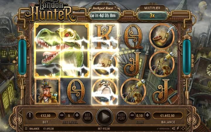 Džoker, Online Casino Bonus, London Hunter