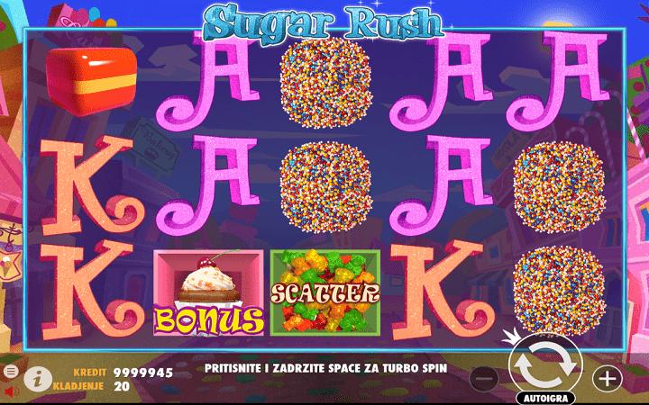 Sugar Rush, Pragmatic Play, Online Casino Bonus