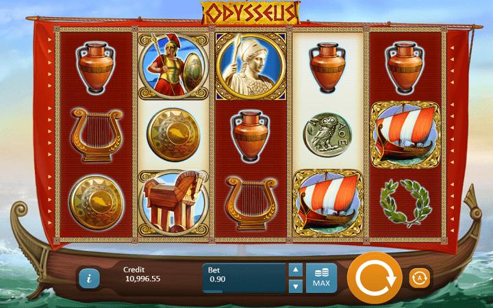 Odysseus, Playson, Online Casino Bonus