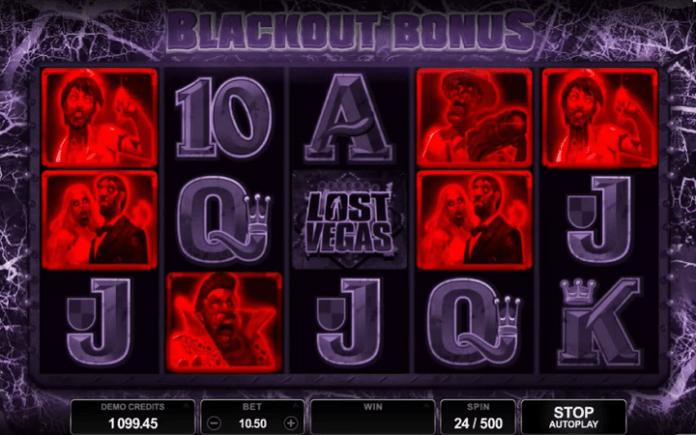 Blackout Bonus-slot Lost Vegas