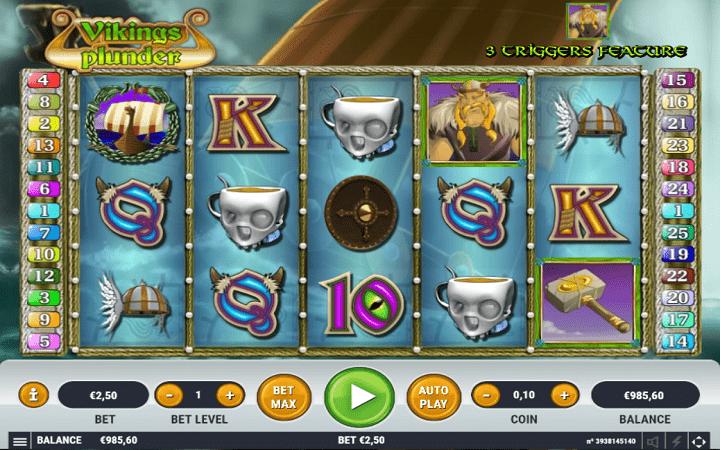 Viking's Plunder, Habanero, Online Casino Bonus