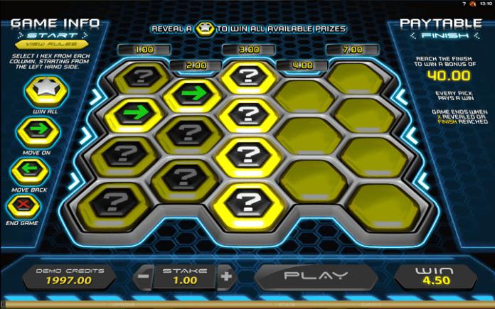 Hexaline, Microgaming, Online Casino Bonus