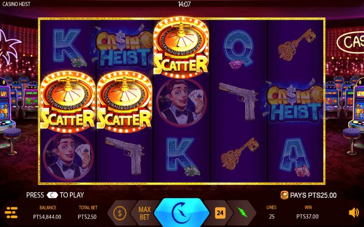 Casino Heist, Expanse, Online Casino Bonus