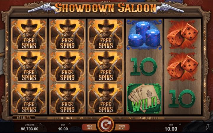 Showdown Saloon, Microgaming, Online Casino Bonus