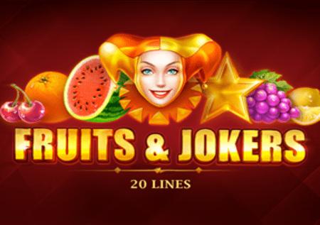 Fruits and Jokers: 20 lines – savršena doza zabave!