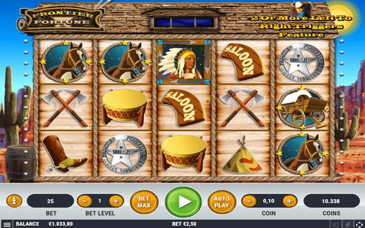 Frontier Fortune, Habanero, Online Casino Bonus