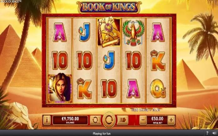 Book of Kings, Online Casino Bonus, Playtech