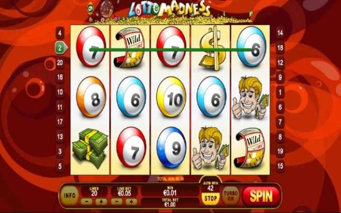 Lotto Madness, Playtech, Online Casino Bonus
