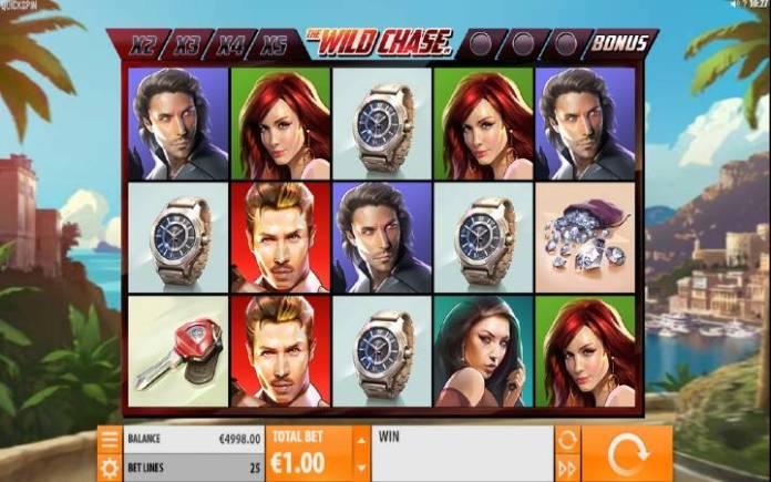 The Wild Chase, Quickspin, Online Casino BOnus