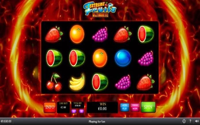 Extreme Fruits Ultimate, Playtech, Online Casino Bonus