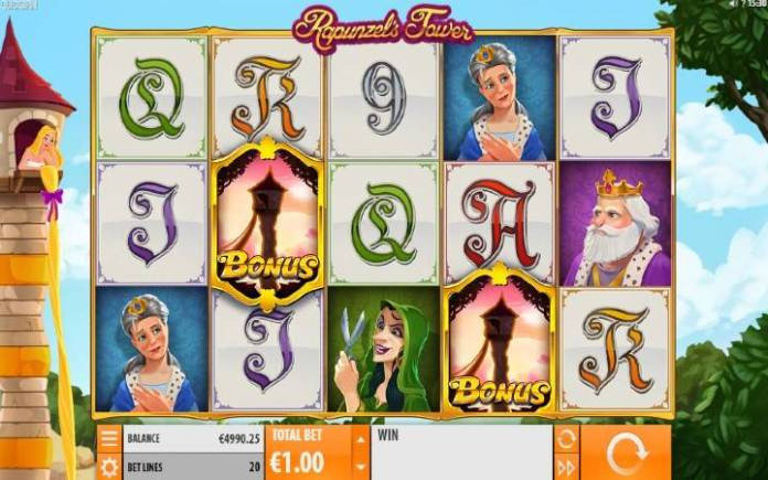 Rapunzels Tower, Online Casino Bonus, Quickspin
