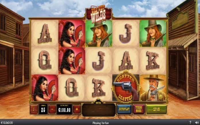 Wild West Wilds, Online Casino Bonus, Playtech