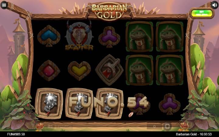 Barbarian Gold, Iron Dog, Online Casino Bonus