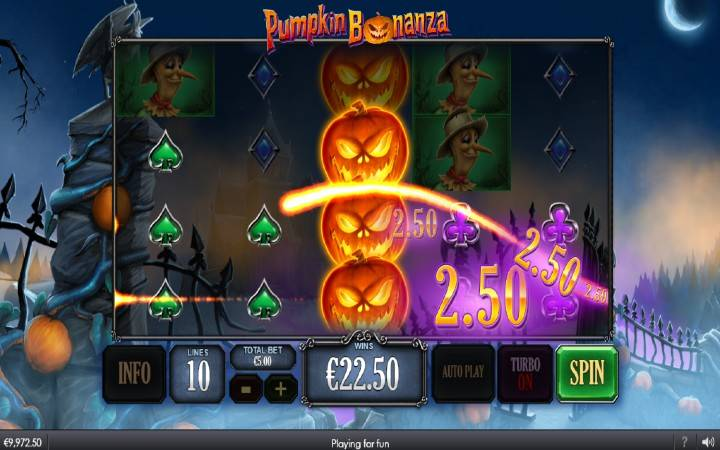 Džokeri, Online Casino Bonus, Playtech, Pumpkin Bonanza