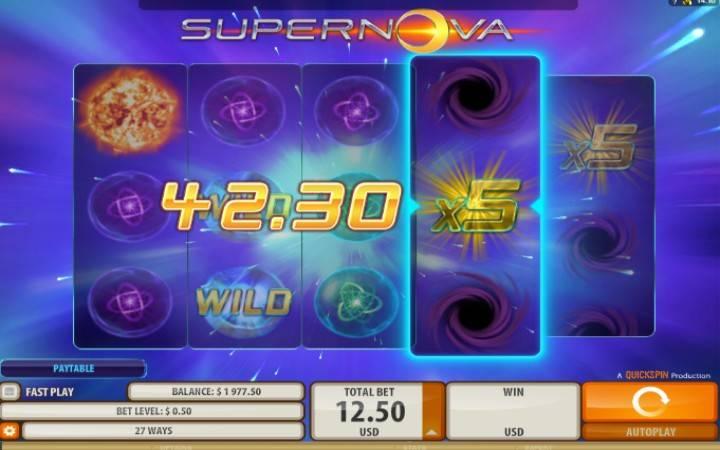 SuperNova, Top 5 Online, Online Casino Bonus