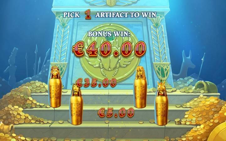 Online Casino Bonus, Age of Egypt, Playtech