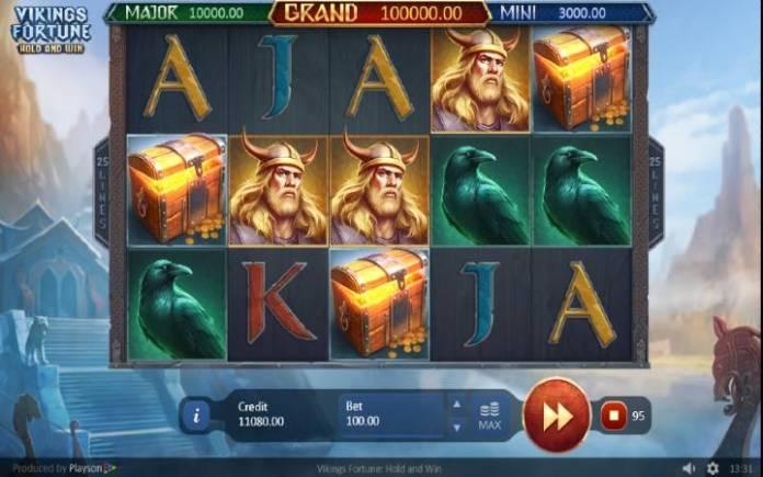 Besplatni Spinovi, Online Casino Bonus, Vikings Fortune: Hold and Win
