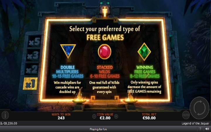 Besplatni Spinovi, Online Casino Bonus, Legend of the Jaguar