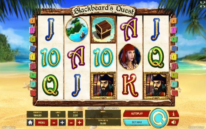 Blackbeards Quest, Online Casino Bonus, Tom Horn
