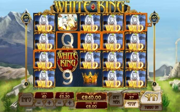 Džoker, White King, Online Casino Bonus