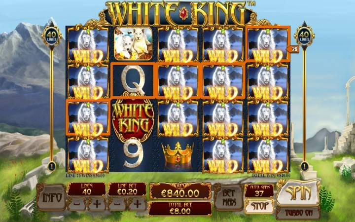 Džoker, White King, Online Casino Bonus