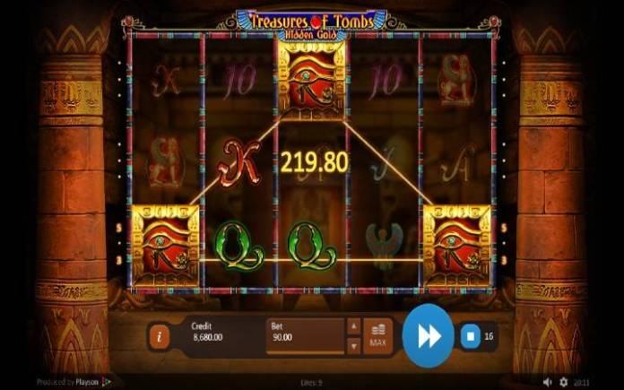 Besplatni Spinovi, Online Casino Bonus, Treasures of Tombs Hidden Gold