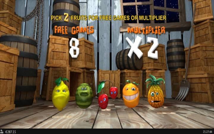 Besplatni Spinovi, Online Casino Bonus, Funky Fruits Farm