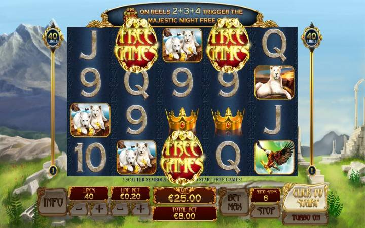 Besplatni Spinovi, Online Casino Bonus, White King