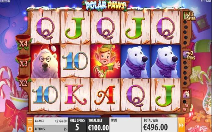Besplatni Spinovi, Online Casino Bonus, Polar Paws