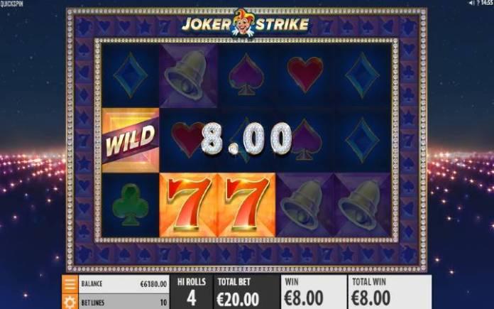 Online Casino Bonus, Džoker, Joker Strike