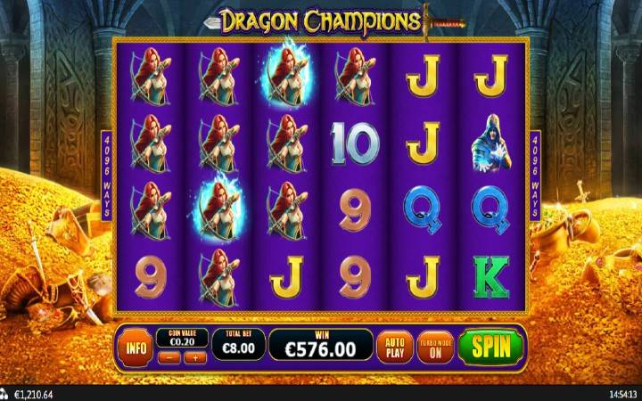 Online Casino Bonus, Dragon Champions