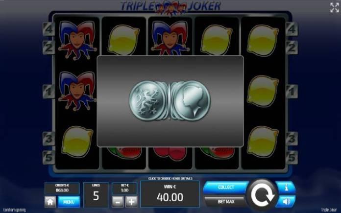 Kockanje, ONline Casino Bonus, Tripple Joker