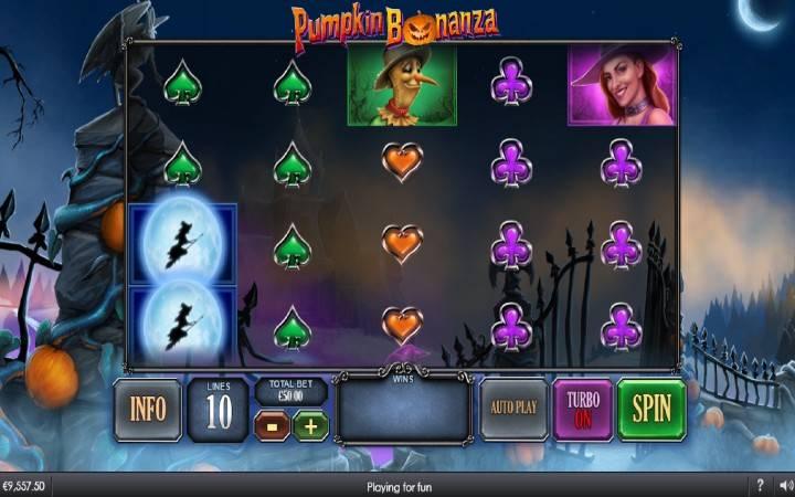 Pumpkin Bonanza, Online Casino Bonus, Playtech
