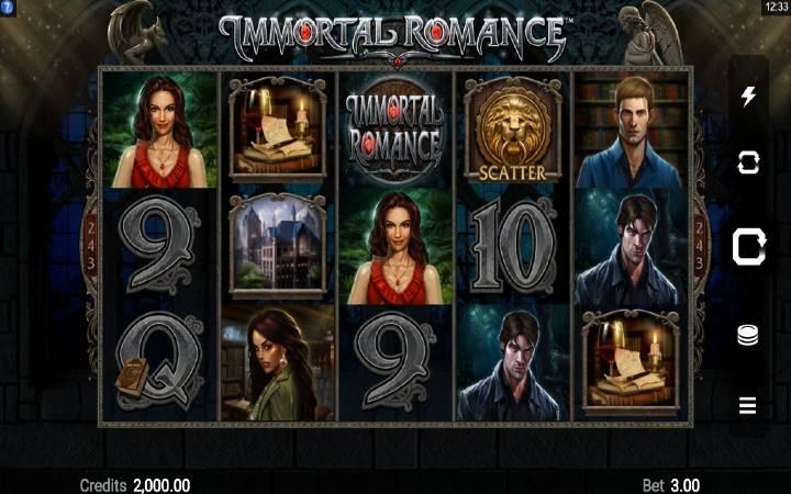 Immortal Romance, Microgaming, Online Casino Bonus