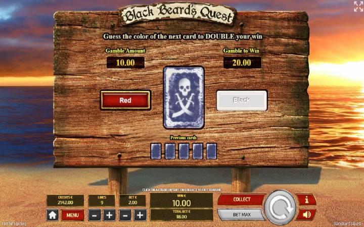 Kockanje, Online Casino Bonus, Tom Horn, Blackbeards Quest